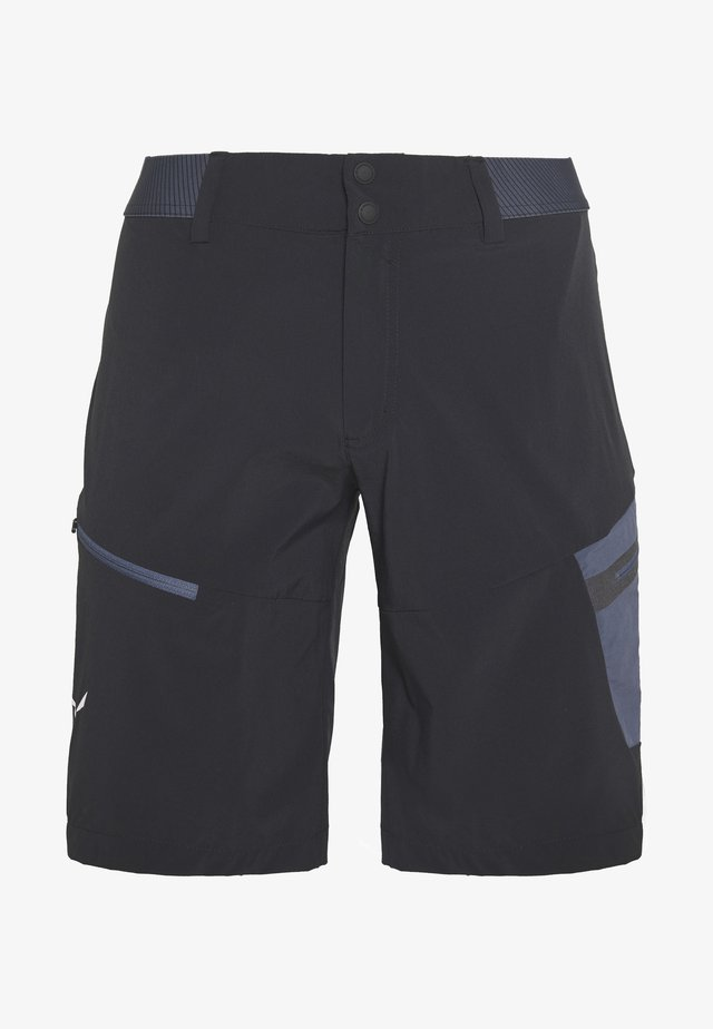 PEDROC CARGO SHORTS - Shorts - black out