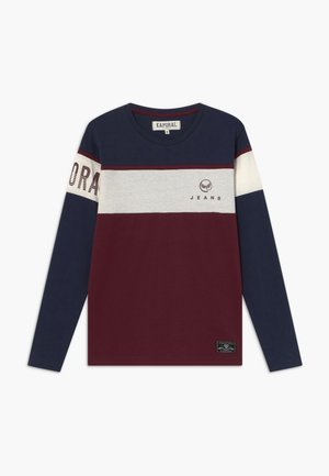 OURY - T-shirt à manches longues - navy