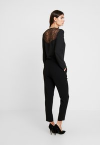 comma - CATSUIT - Mono - black - 2