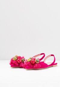 Pretty Ballerinas - Slingback ballet pumps - fuxia/coco - 4