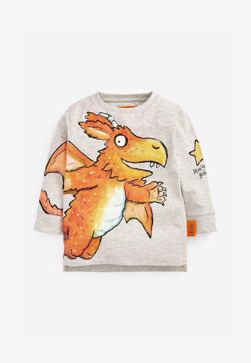 Next - ZOG - Print T-shirt - grey