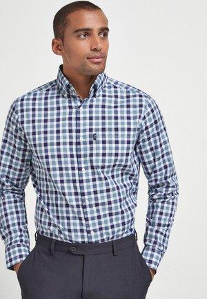 Oxford  - Shirt - mottled dark blue