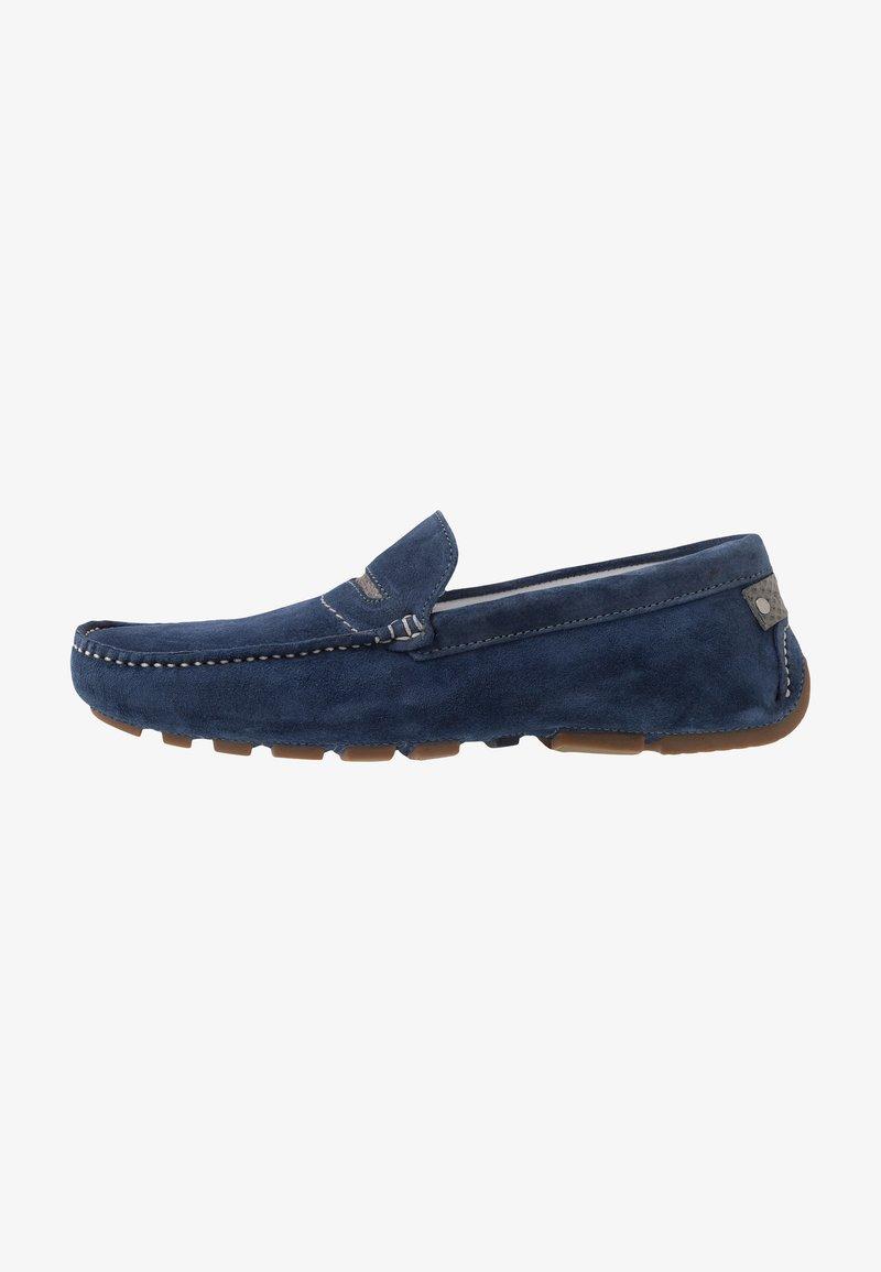 Van Lier - AUTOMOC - Moccasins - blue