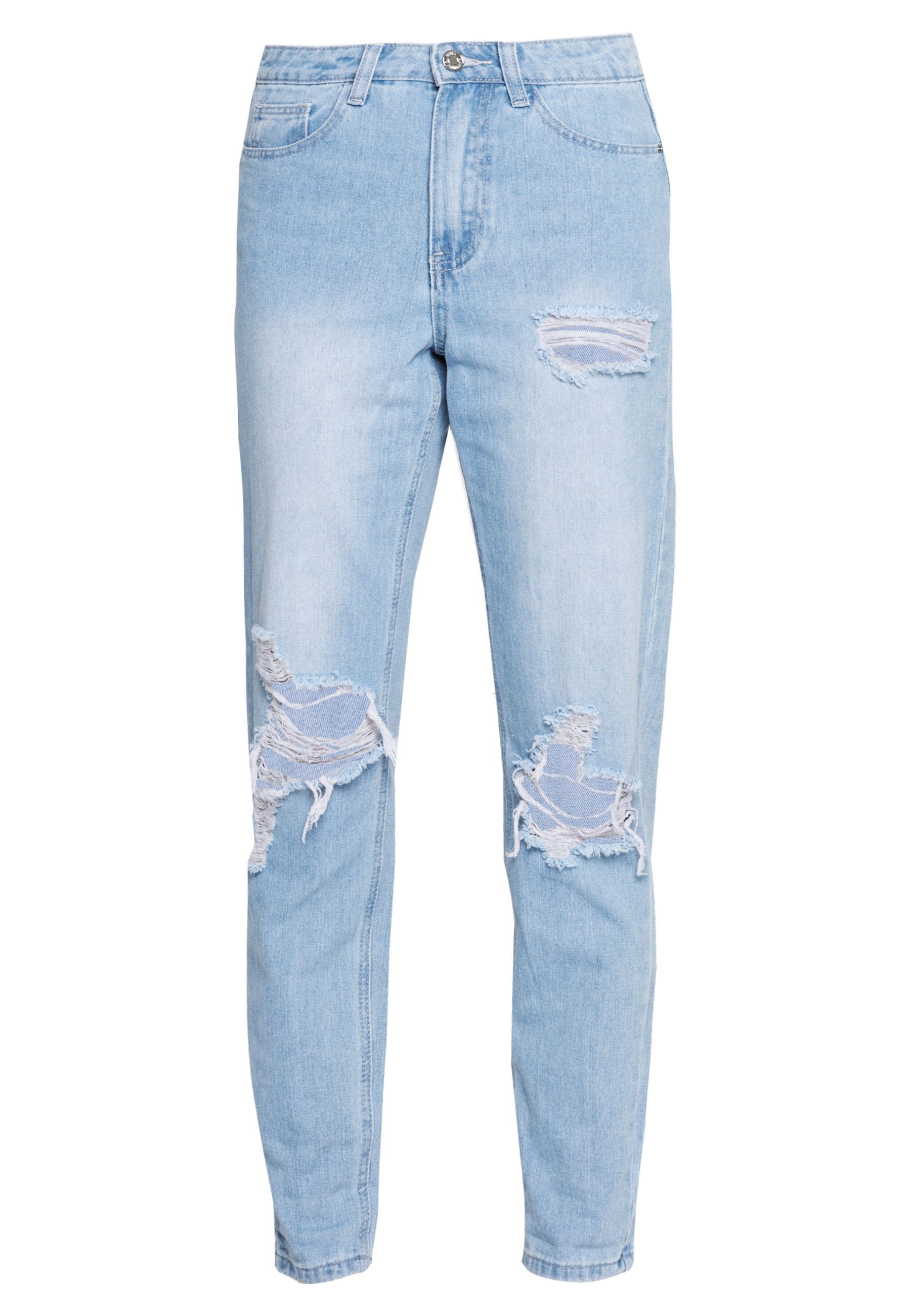 Women RIOT HIGHWAISTED ROLL KNEE MOM - Relaxed fit jeans