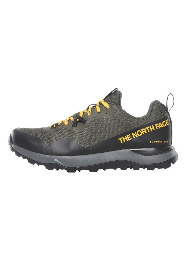 M ACTIVIST FUTURELIGHT - Zapatos con cordones - new taupe green/tnf black