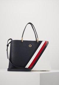 Tommy Hilfiger - CORE SATCHEL - Handbag - blue - 0