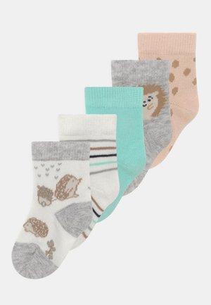 NBMKARLO 5 PACK - Socks - snow white