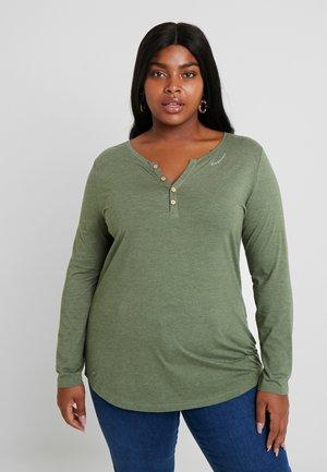 LYVUSHA ORGANIC LONG SLEEVE TEE - Long sleeved top - green