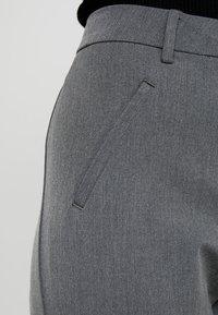 Fiveunits - ANGELIE - Trousers - grey melange - 4