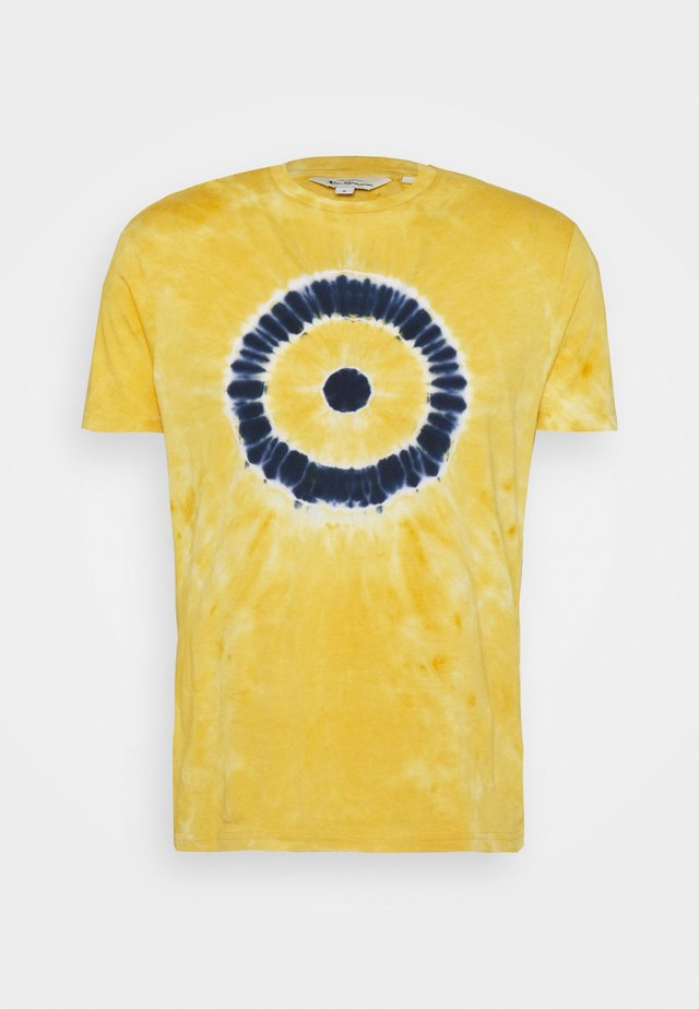 TARGET TEE - Printtipaita - pale yellow
