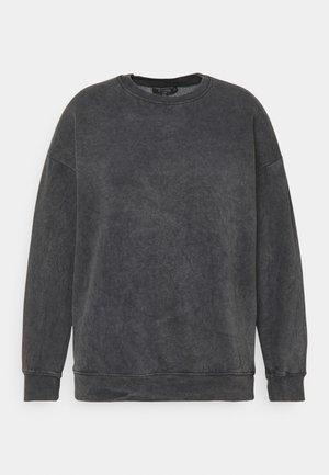 ACID WASH - Sweatshirt - charcoal