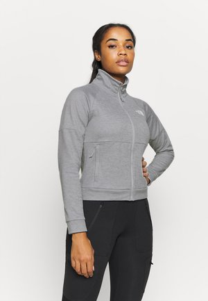 ACTIVE TRAIL FULL ZIP JACKET - Fleecejacka - light grey heather