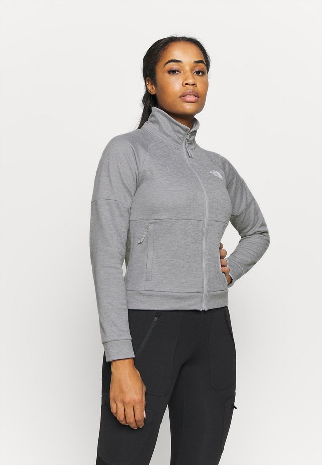 ACTIVE TRAIL FULL ZIP JACKET - Fleece jacket - light grey heather