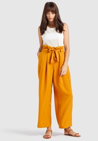 khujo - EIVOLA - Trousers - yellow - 7