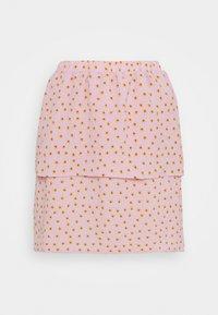 VILA PETITE - VILIV SKIRT - Mini skirt - pale mauve - 0