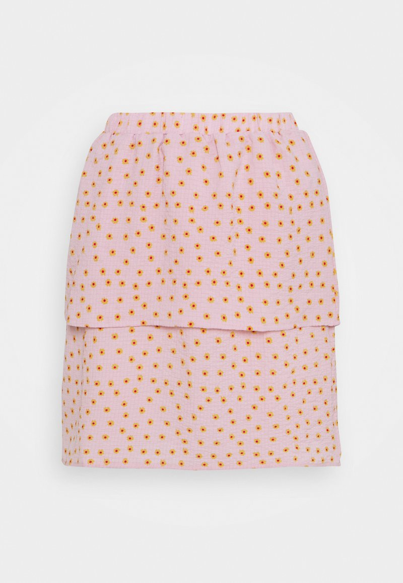 VILA PETITE - VILIV SKIRT - Mini skirt - pale mauve