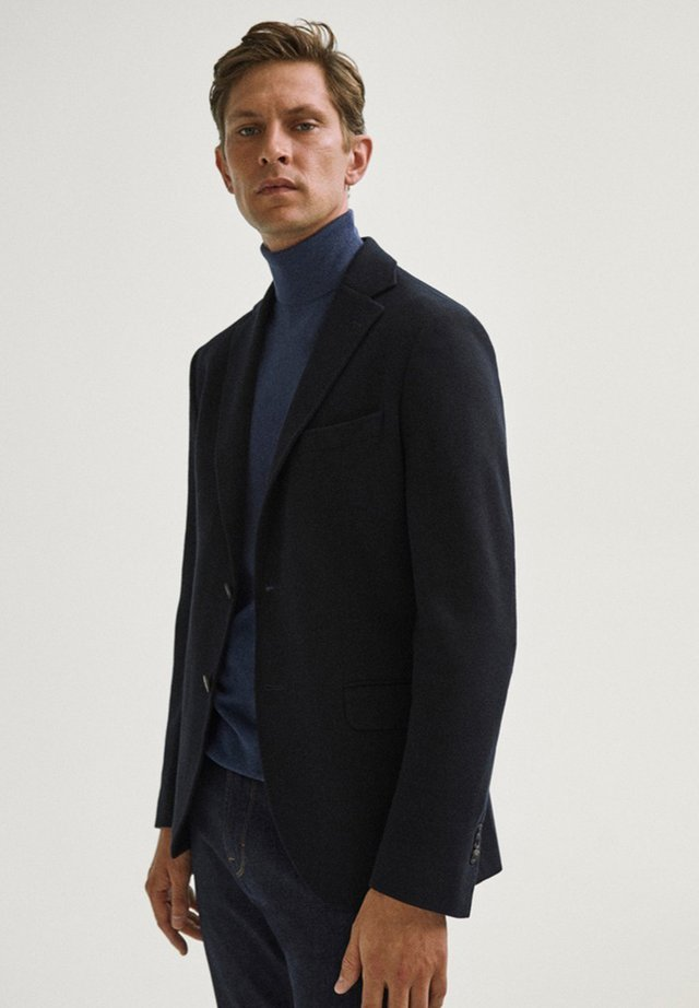 Blazer - blue-black denim
