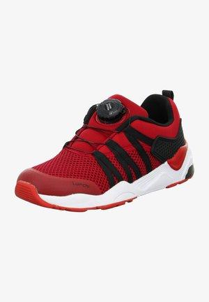 LEONIT - Trainers - rot schwarz
