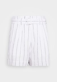 Abercrombie & Fitch - LONG INSEAM STRIPE - Shorts - white/blue - 3