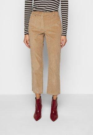 JORDAN - Trousers - kamel
