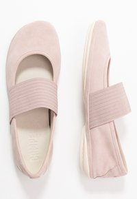 Camper - RIGHT NINA - Ankle strap ballet pumps - pastel pink - 3