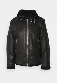 Be Edgy - AUSTIN - Leather jacket - black - 5