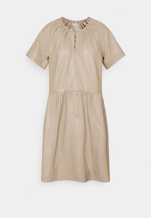 AKAY DRESS - Day dress - sandstone