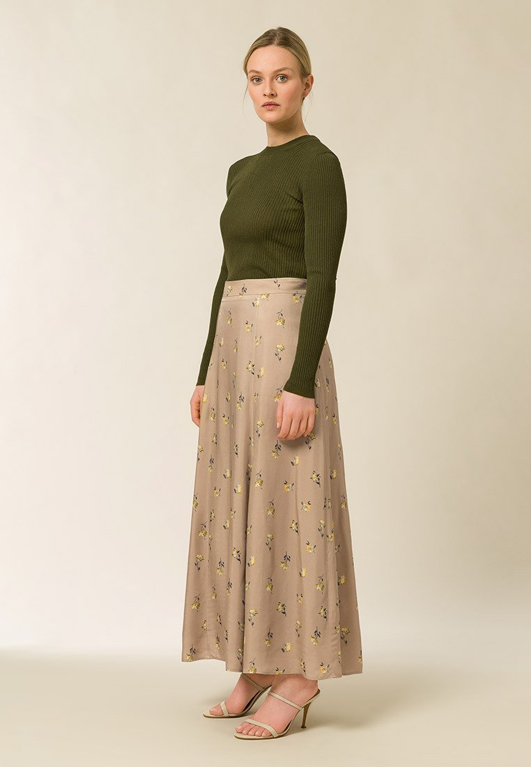 IVY & OAK - A-line skirt -  toffee