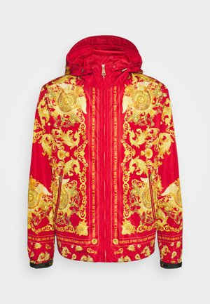 PRINT BAROQUE - Tunn jacka - red