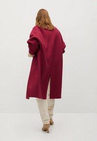 Mango - COCTEL - Classic coat - fuchsia - 1