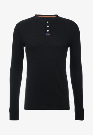 LEGACY GRANDAD - Long sleeved top - vintage black