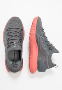 Under Armour - HOVR PHANTOM SE - Neutral running shoes - pitch gray/fractal pink - 1