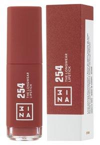 3ina - THE LONGWEAR LIPSTICK - Rouge à lèvres liquide - 254 brown - 1