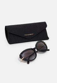 Dolce&Gabbana - Sunglasses - black/gold-colourd - 2
