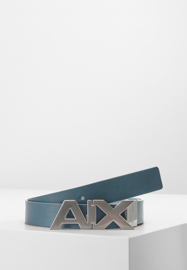 BELT - Belt - blue navy/grey