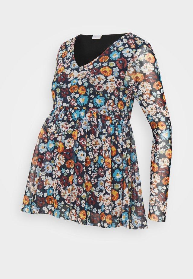 MLAMELIA  - Maglietta a manica lunga - navy blazer