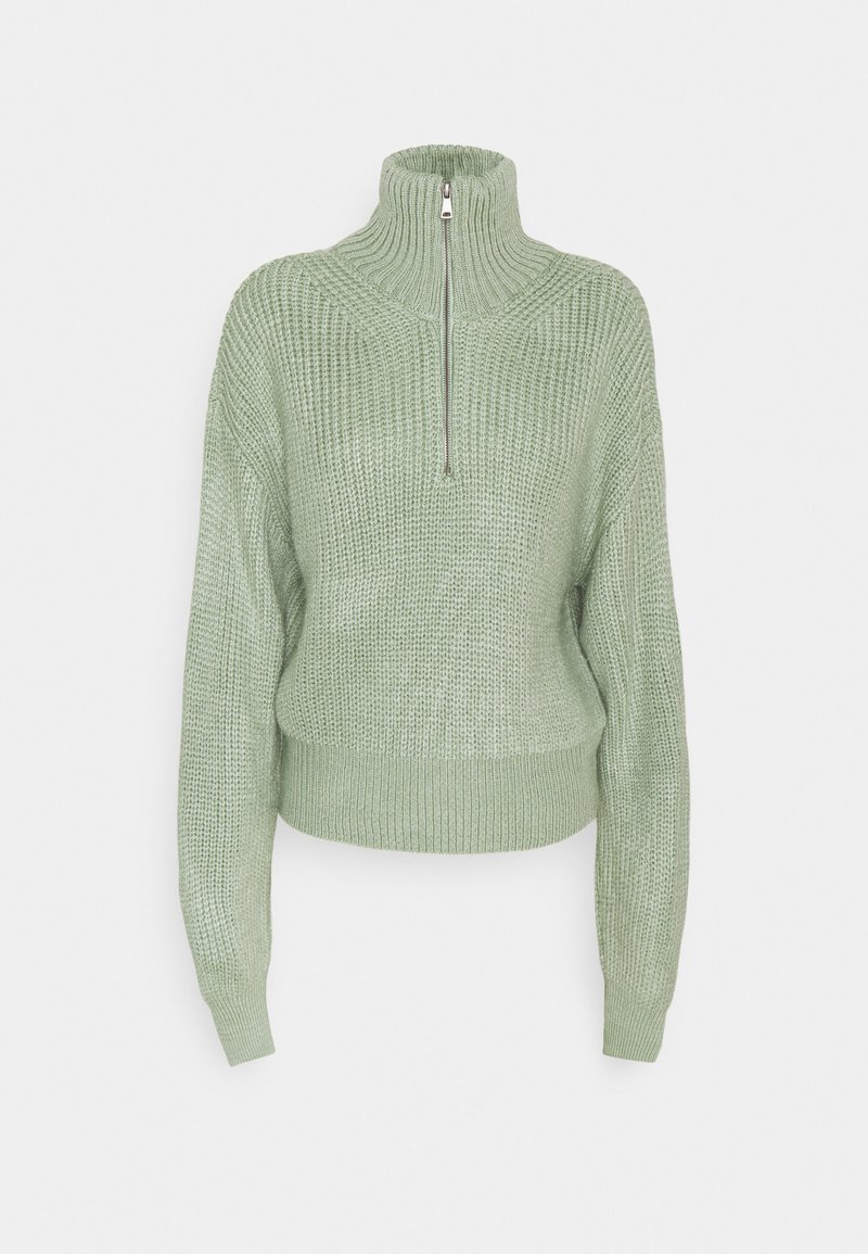 BDG Urban Outfitters - FISHERMAN ZIP UP - Jumper - sage