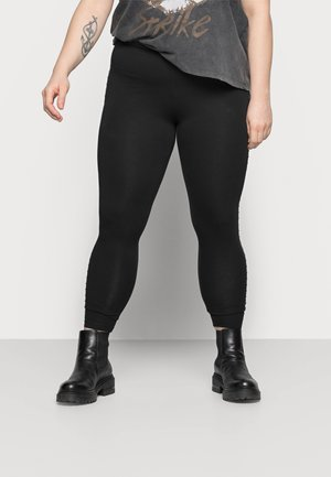 CARROUTE LIFE - Leggings - Trousers - black