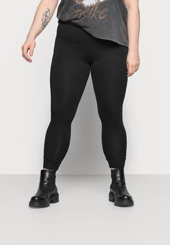 CARROUTE LIFE - Leggings - Trousers - black