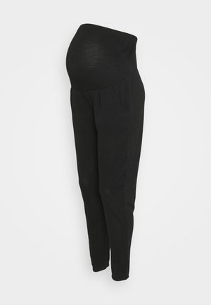 BRUSHED OVER BUMP JOGGER - Trousers - black