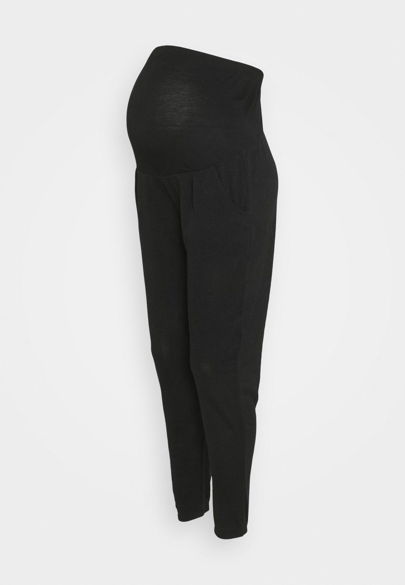 Dorothy Perkins Maternity - BRUSHED OVER BUMP JOGGER - Trousers - black