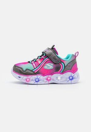 HEART LIGHTS - Sneakers basse - black/multicolor sparkle/multicolor