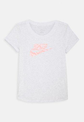 TEE SCOOP  - Print T-shirt - birch heather