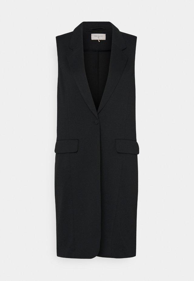 NANNI - Waistcoat - black