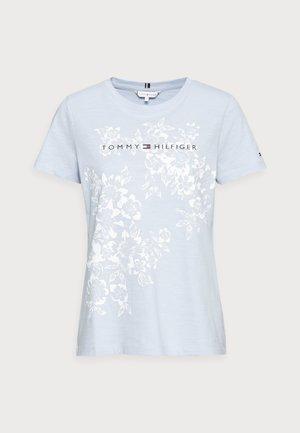 REGULAR GRAPHIC TEE - T-shirt z nadrukiem - blue