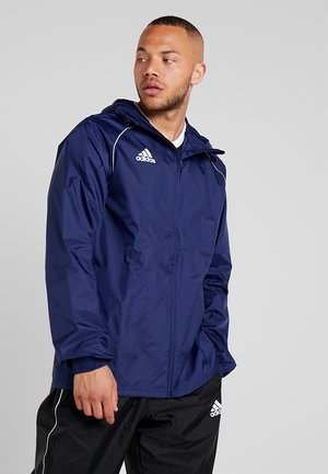 CORE ELEVEN FOOTBALL JACKET - Hardshell-jakke - dark blue/white