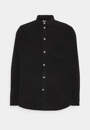 ASKE CORD - Shirt - black