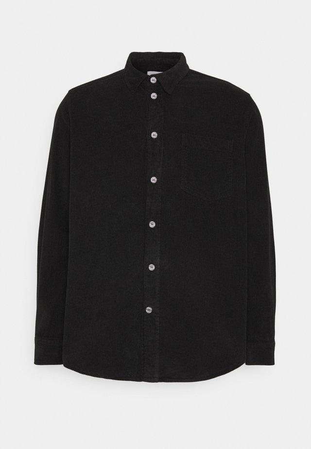 ASKE CORD - Camicia - black