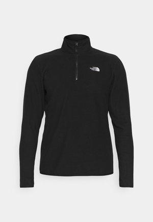 GLACIER 1/4 ZIP  - Fleece jumper - black