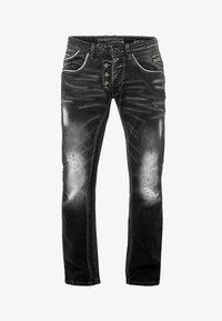 Rusty Neal - Straight leg jeans - anthrazit - 0